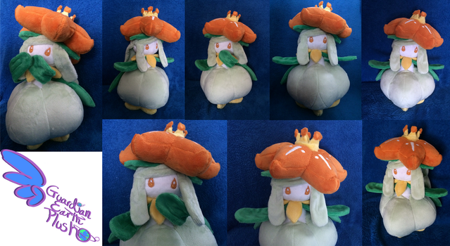 Lilligant Pokemon Plush 12.5'' Poseable arms! by GuardianEarthPlush