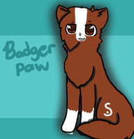 -Request- Badgerpaw is a boss by Azura-Kat
