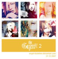 The GazettE Icon Set 2 by angel-dudettes