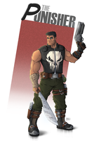 Punisher by RHOM13