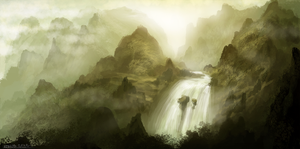 Waterfall by ehecod