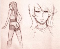 Day 283: Miss A - Fei +Day 284 by shortpinay