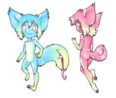 CHEAP Tailmouth Adopts: TAKEN by XxSilverWebAdoptsxX