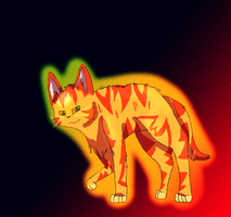 Warriors: Lionblaze by Field-Of-Roses