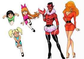 powerpuff girls by scottssketches