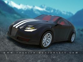 my 2nd 3d car by Rozairo
