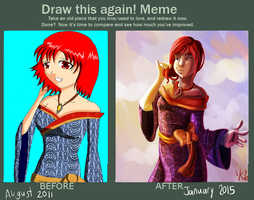 MEME: Draw This Again by 0SkyKat0