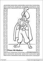 Prince Ali by Writer-Colorer