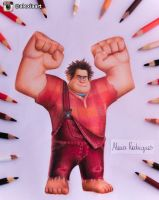 Ralph - Wreck it Ralph by AlexiaRodrigues