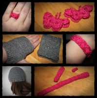 Crochet: Some small projects by Almath3a