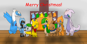 Merry Christmas from the Guardians of Hope! by KurtisTheSnivy