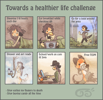 Healthy challenge by griffsnuff
