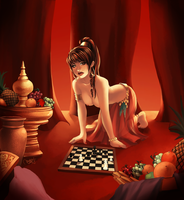 Concubine Chess by AndronicusVII