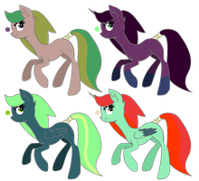 Free Pony Adoptables - CLOSED by CassidyPeterson