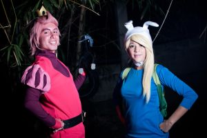 Fionna and Gumball - Aventure Time by Kokakud-Master