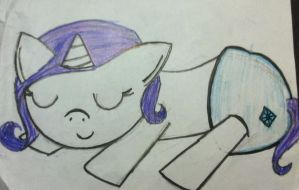 Speed Draw Rarity by InvaderRiley17