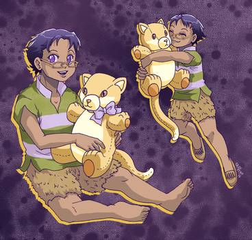 Little Cecil's favorite toy by ErinPtah