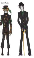 Role Reversals: Scarecrow and Riddler (COMPLETE) by CarpalTunnelLuv
