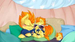 Commission: Spitfires' Pillow Fort by OMGProductions