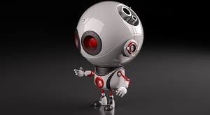 robot 02 by 3d-chocolate
