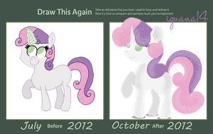 Draw This Again - Sweetie Belle by iguana14