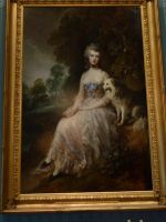 Thomas Gainsborough painting by photodash