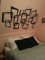 Bed Mural by Candy-Janney