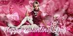 Free Valentines Day PSD Header Cara Delevingne by Anuya