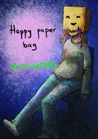 happy paper bag by Yume-thing