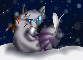 Snowy Lovers~ RushingSoot by Jewel-Shapeshifter