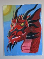 Portait of a Dragon by Blood-Asp0123