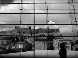 Admiring the Acropolis... by Mprintochainis