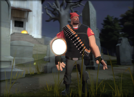 Heavy from tf2 for Halloween by Elayez