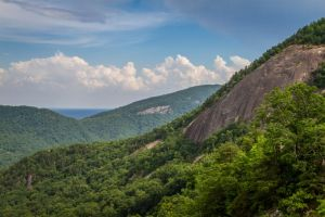 The View from Chimney Rock by Earth-Divine