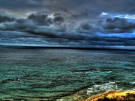 STORM CLOUDS OVER THE SEA 8 by mecengineer