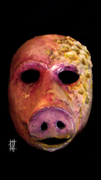 Honey Ham Mask by deadwrong777