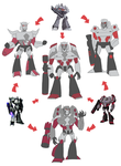 TF - Hexafusion Megatron by Rosey-Raven