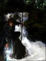 Young Merlin Summons Water by Filmchild
