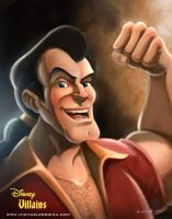 Disney Villains - Gaston by mregina