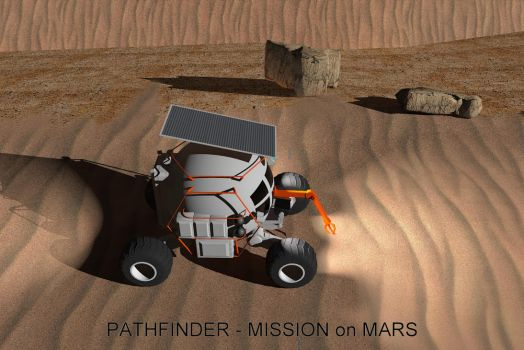 Pathfinder-Mars Exploration by davidfly
