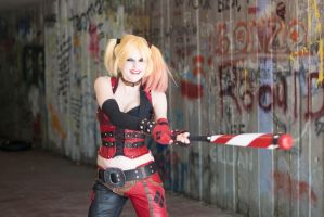 Bat-Sh*t Crazy : Arkham City : Harley Quinn by Lossien
