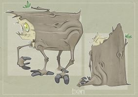 Log Insect by Ben-Olive