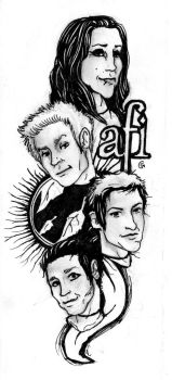 Sing the sorrow AFI design by Anarchpeace