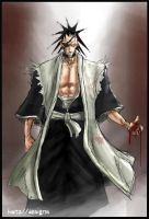 Zaraki Kenpachi by hanzthebox