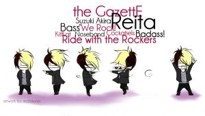 WE ROCK Reita by michikurai