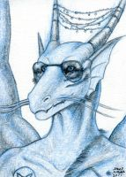 Gauthar ACEO by AokiBengal