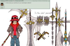 Question 16: My Weapon Collection by Jacob-Cross