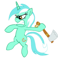 Lyra colored by CrusierPL