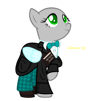 MLP Base #5: I'm As The 2nd Doctor by SilenceDJ