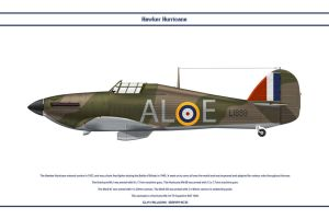 Hurricane GB 79 Sqn by WS-Clave